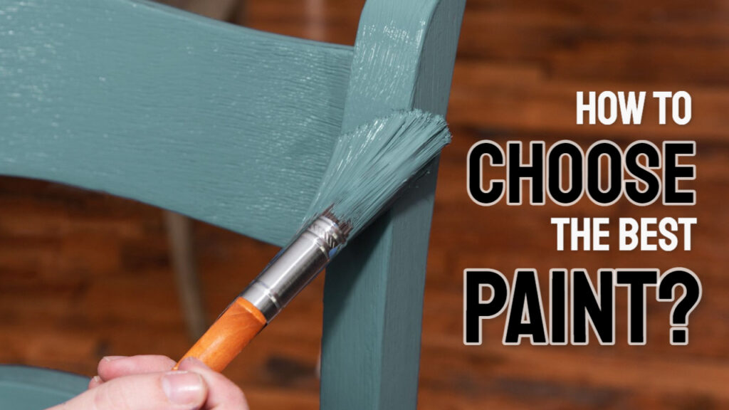 how to choose the best paint for wood crafts